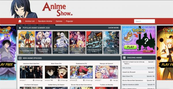 AnimeShow: one of the best anime sites