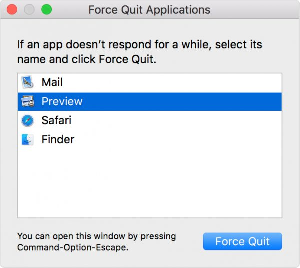 How To Force Quit On Mac Using The Apple Menu