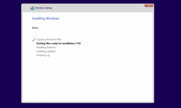 how to install windows 10 from USB Installation