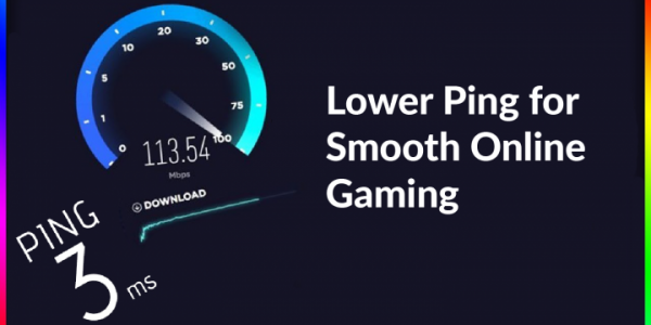 Low Ping Speed When Online Gaming
