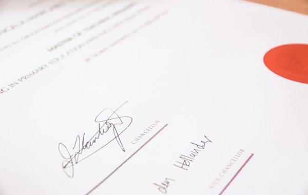 Real Certificate