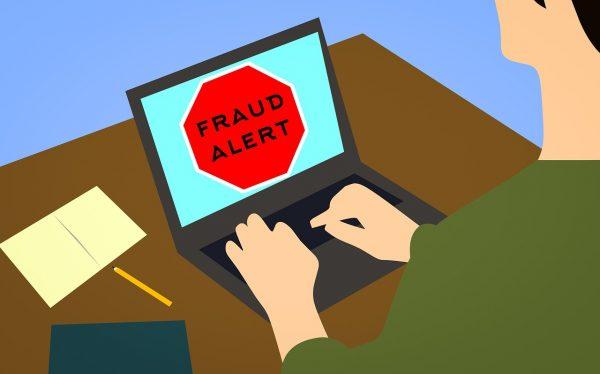 Gráficos de fraude de identidad