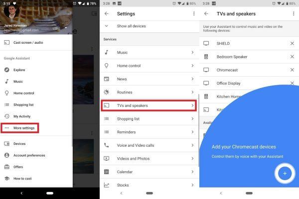 Utilize Google Assistant To Control Casting
