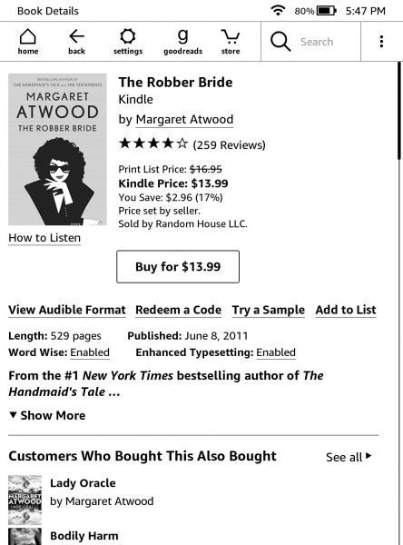 How to buy eBooks from the Kindle store
