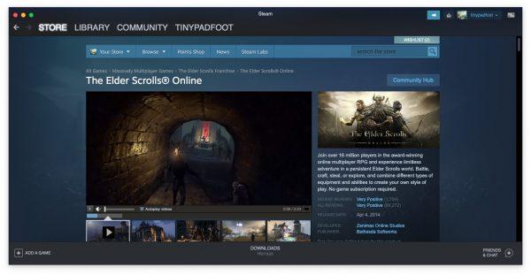 The Elder Scrolls Online Steam