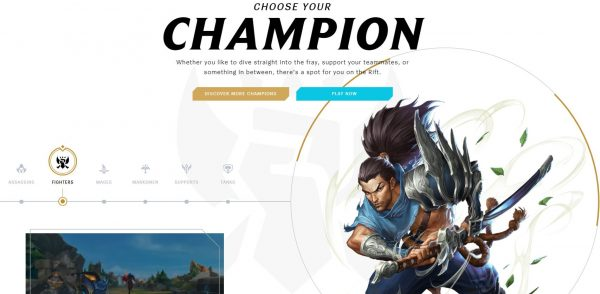 Choose your Champion LOL
