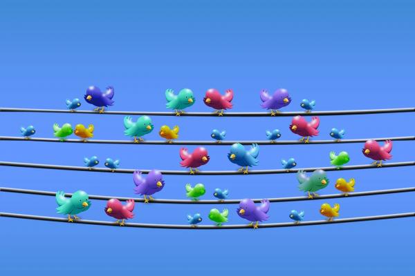 Colorful Tweets