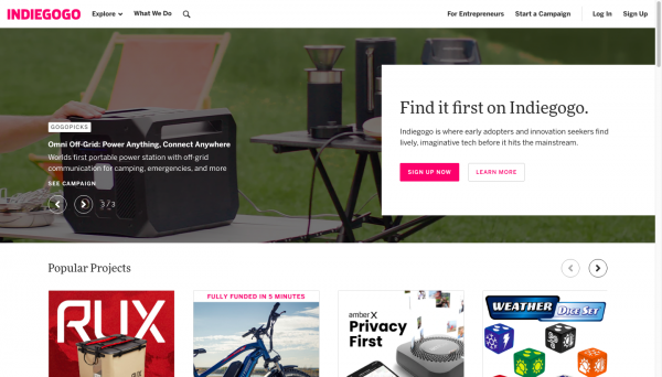 indiegogo review: What is Indiegogo