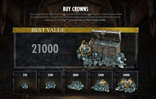 ESO Crown Store