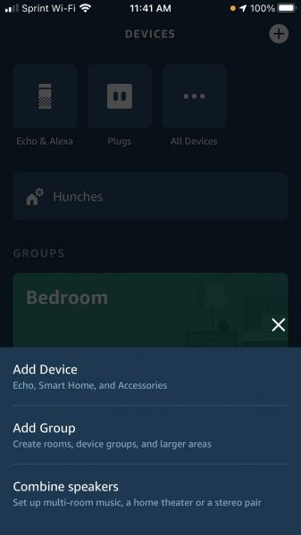 connect alexa enabled device