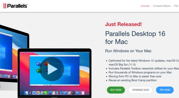 Parallels Virtual Machine