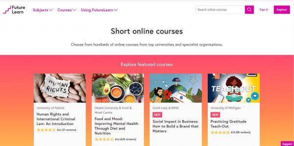 Short Online Courses