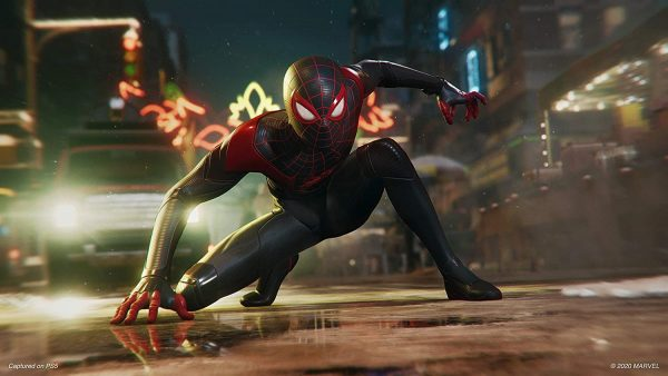 Spiderman: Miles Morales Visuals