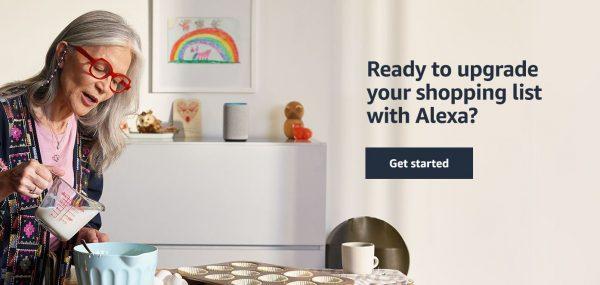 shopping with amazon alexa