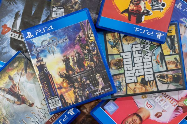 ps4 games; ps4 game collection