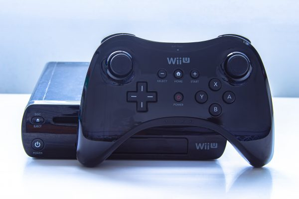wii u controller featured with console