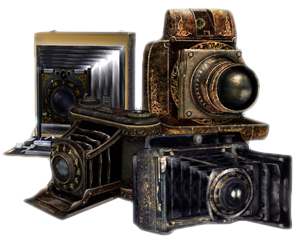 camera obscuras, bellows cameras