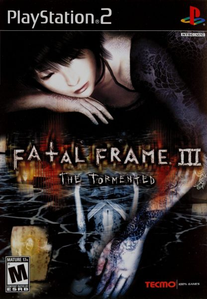 fatal frame iii the tormented ps2 cover art