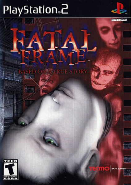 fatal frame 1 ps2 cover art