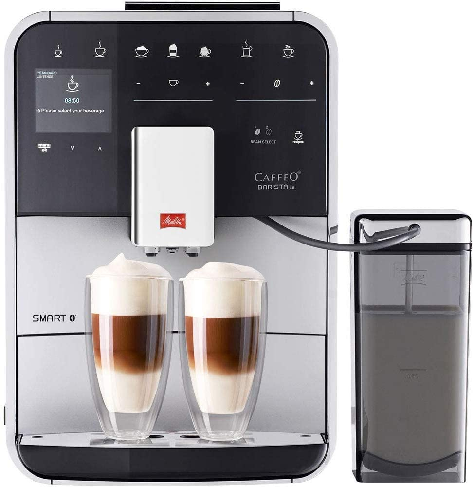 http://Melitta%20Caffeo%20Barista%20TS%20Smart%20with%20two%20drinks