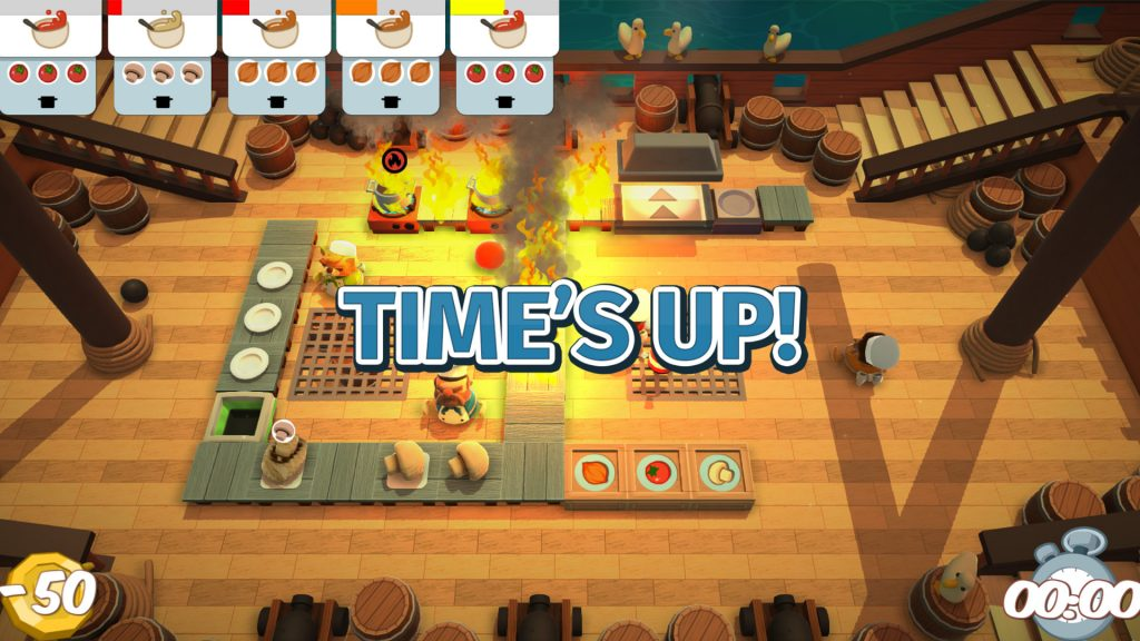 Overcooked! All You Can Eat Game Modes