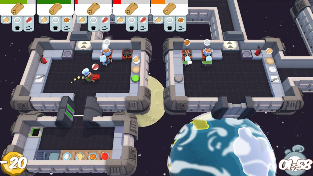 Overcooked! All You Can Eat Level Design