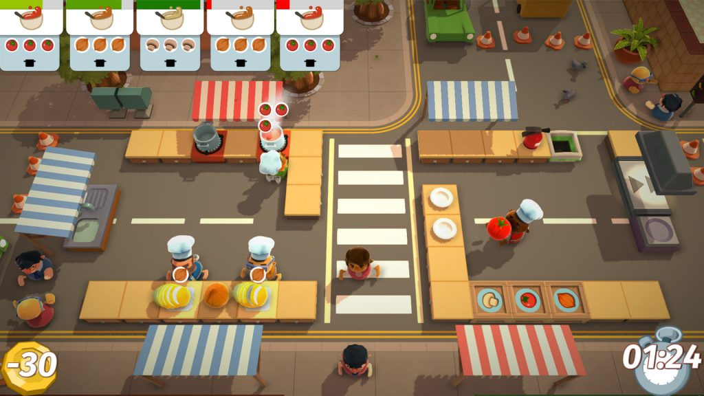 Overcooked! All You Can Eat Online Multiplayer
