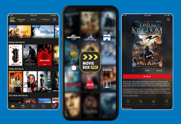 moviebox pro android interface