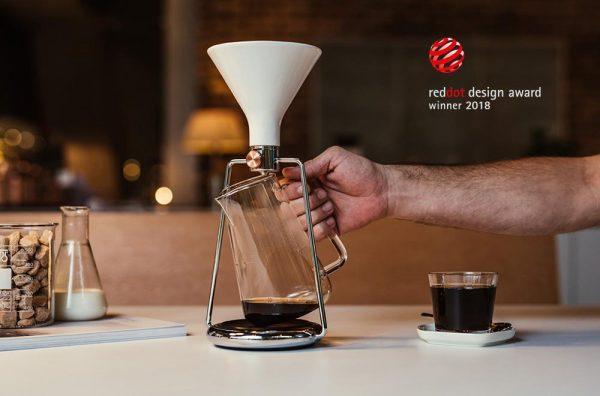 GOAT GINA coffee maker design
