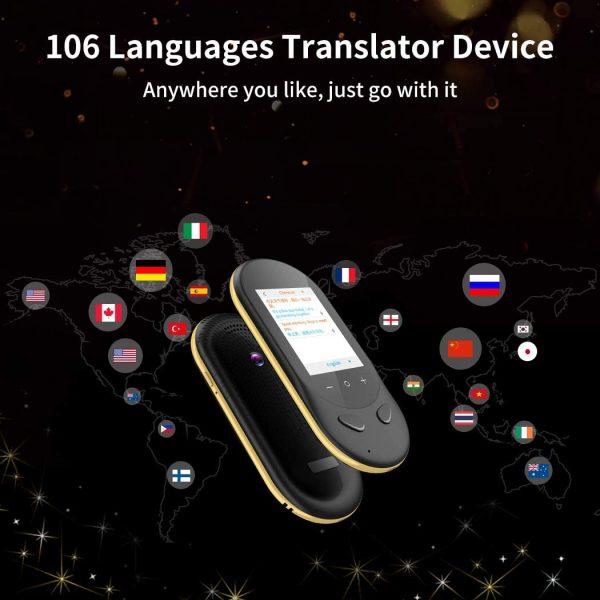 what is a language translator device