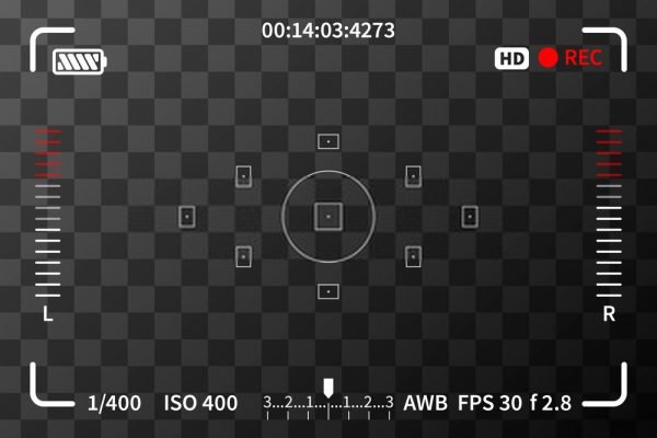 Aperture camera setting