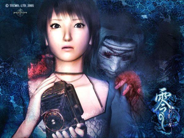 fatal frame iii rei kurosawa with blinded ritual ghost