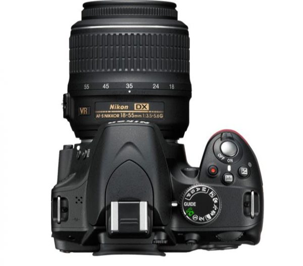 Nikon D3200 Ergonomics