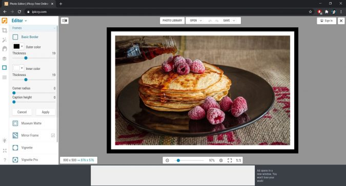 iPiccy Photo Editor: Every Tool You Can Use Without Spending a Cent