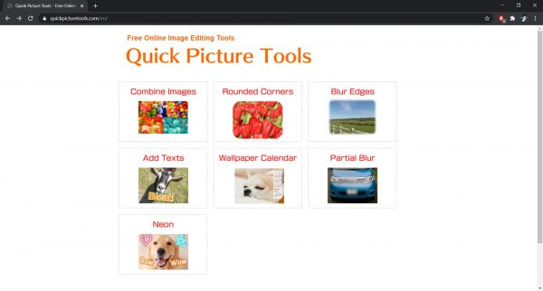 Quick Picture Tools photo editor