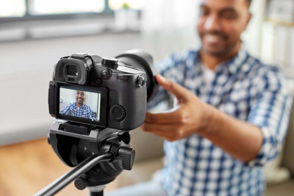 set up camera and use dslr as webcam
