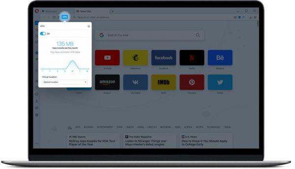 Opera Free VPN