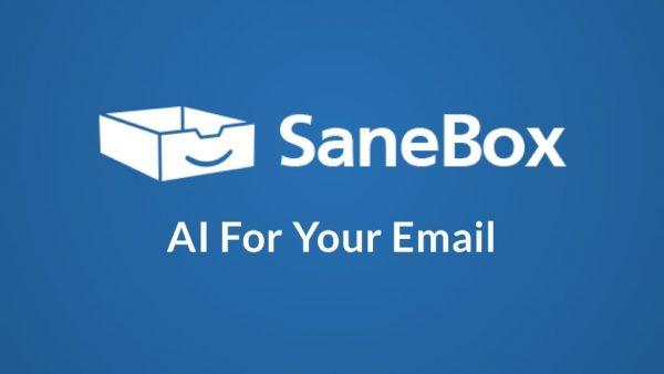 SaneBox Banner