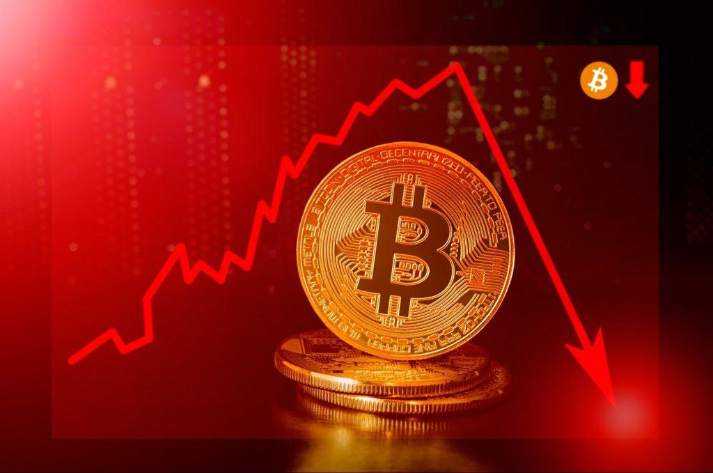 bitcoin volatile drop