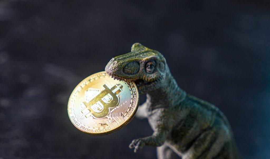 Bitcoin Dino Intro