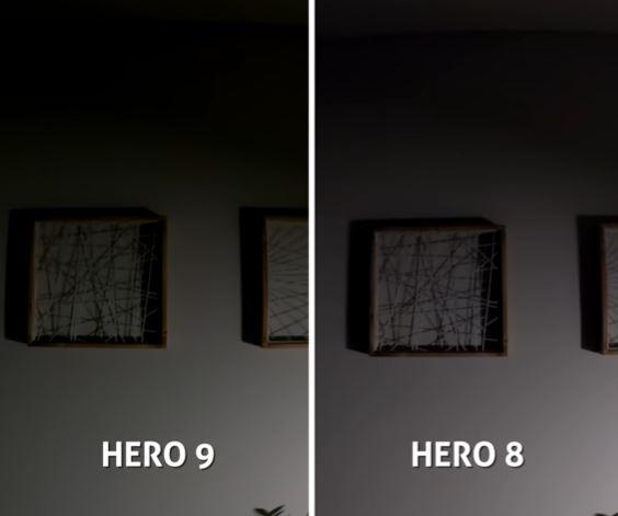 night photo gopro hero 9