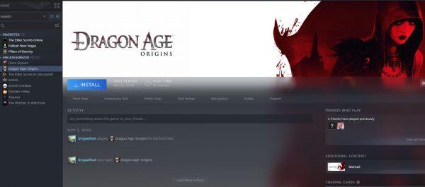 reinstall Steam games