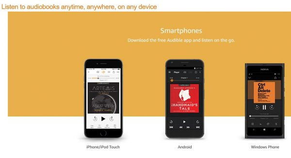 where to listen how does audible work
