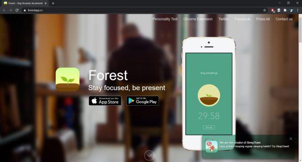 Forest website