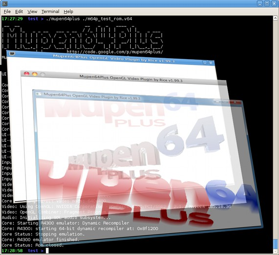 Mupen64 n64 emulator