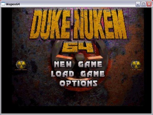 Mupen642 n64 emulator