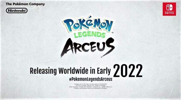 Release Date of Pokémon Legends