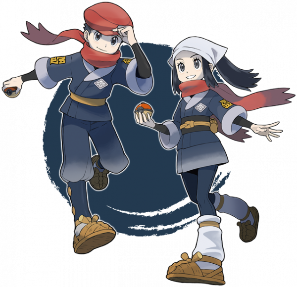 pokemon legends characters