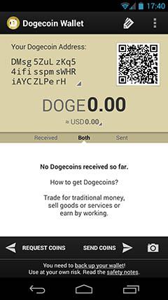 Dogecoin address