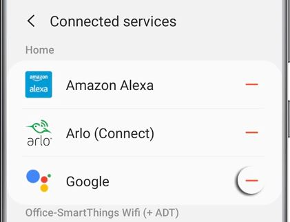 samsung smartthings set up voice assistant